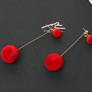 Urban Outfitters Red Earrings